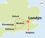 To nejlepší z Londýna + WINDSOR, BRIGHTON, STONEHENGE, OXFORD a jiné  (autobusem)