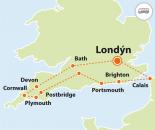 To nejlepší z jihozápadní Anglie (autobusem)