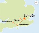 To nejlepší z Londýna + WINDSOR + WINCHESTER + STONEHENGE (letecky z Brna)