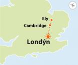 To nejlepší z Londýna + CAMBRIDGE + ELY (letecky z Prahy)
