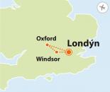 To nejlepší z Londýna + WINDSOR + OXFORD (letecky z Prahy)