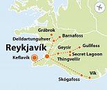 To nejlepší z Islandu (letecky z Ostravy – Katovic)