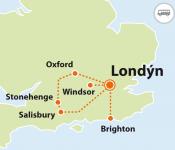 To nejlepší z Londýna + WINDSOR, BRIGHTON, STONEHENGE, OXFORD a jiné