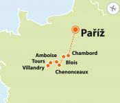 To nejlepší z Paříže + ZÁMKY NA LOIŘE