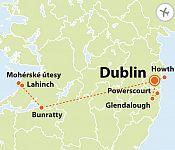 To nejlepší z Dublinu + IRSKÁ PŘÍRODA