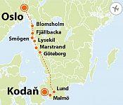 To nejlepší ze západního Švédska + KODAŇ + OSLO