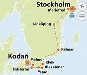 To nejlepší z východního Švédska + KODAŇ