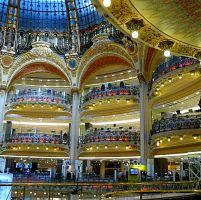 Nákupy v Paříži