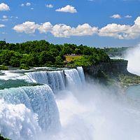 Kanada (Niagárské vodopády)