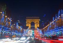 Adventní Paříž + NEJKRÁSNĚJŠÍ VÁNOČNÍ TRHY (letecky z Prahy)
