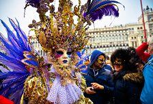 Karneval v Benátkách + MURANO (autobusem)