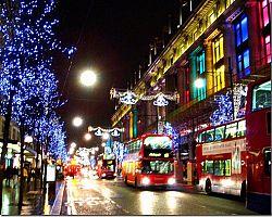 Nákupní londýnská tepna
