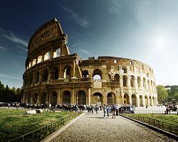Koloseum, dějiště gladiátorských her