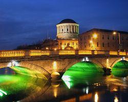 Noční Dublin