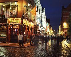 Noční život čtvrti Temple bar