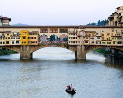 Středověký most Ponte Vechio
