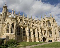 Kaple sv. Jiří hradu Windsor