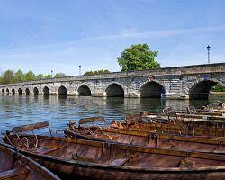 Lodě na řece Avoně
