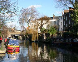 Vodní kanál v Regent's Parku