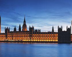 Budova parlamentu Velké Británie