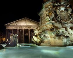 Antický chrám Pantheon