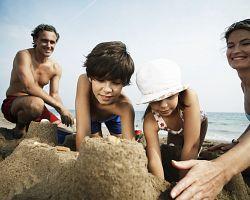 Pláže v Ostii jsou písčité