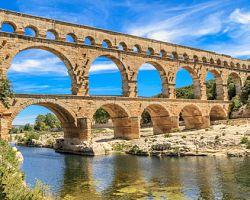 Akvadukt Pont du Gard (UNESCO)