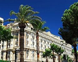 Promenáda Croisette v Cannes