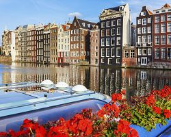 Pohled na Amsterdam