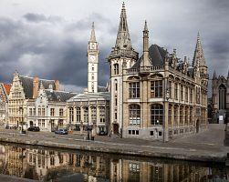 Úchvatná architektura Gentu