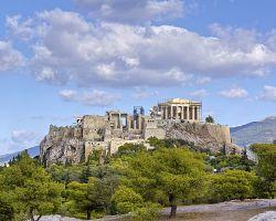 Akropole v Aténách