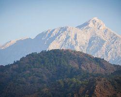 Pohoří Olymp v Řecku