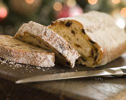 Tradiční vánoční máslová štola