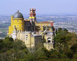 Pohádkový zámek v Sintře