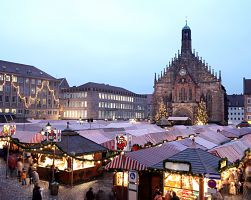 Vánoční trhy v Norimberku