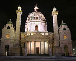 Barokní klenot Karlskirche