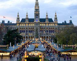 Hlavní trhy před vídeňskou radnicí