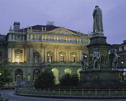 Operní chrám a divadlo La Scala