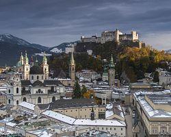 Salzburg je krásné barokní město