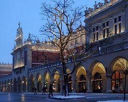 Slavný městský trh Sukiennica