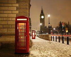 Zimní londýnská krása