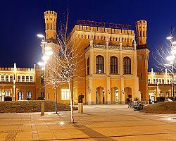 Předvánoční náměstí ve Wroclawi