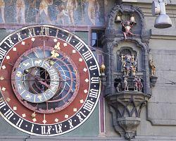 Orloj na bernské věži Zytglogge