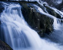 Čarokrásný Rýnský vodopád