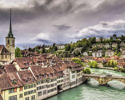 Hlavní město Švýcarska - Bern