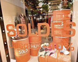 Výprodeje v Paříži