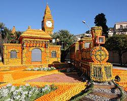 Festival citrusů v Mentonu