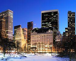 Manhattan v zimním čase