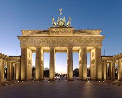 Braniborská brána - symbol Berlína