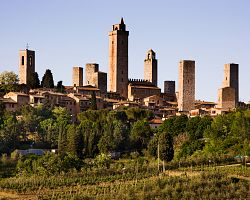 Malebné San Gimignano